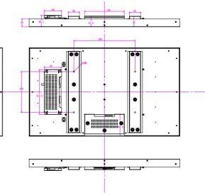 32寸户外高亮液晶屏模组 屏幕图片参数特点介绍