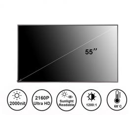 55寸2000亮度高亮液晶屏